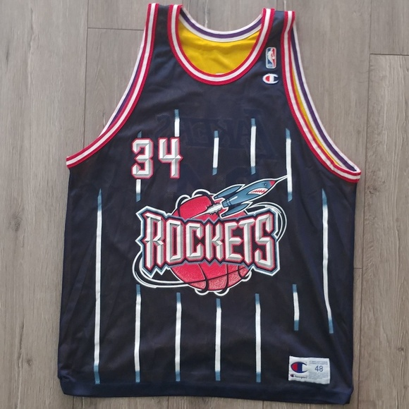 1a88a863b86 Champion Other | Hakeem Olajuwon Shaquille Oneal Jersey | Poshmark